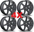 20X9 GUNMETAL WHEELS RIMS 5X1397 5X55 CENTERLINE 7 GRAY GREY