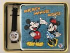 FOSSIL Damenuhr MICKEY and MINNIE MOUSE limitiert 5000 in Blechdose