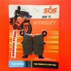 Jincheng JC 125 2B 97 > ON SBS Front Ceramic Brake Pads Set OE QUALITY 690HF