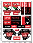 Aprilia Racing Factory Motorcycle Stickers Fairing Tank Decals RSV4 Tuono V4 RS