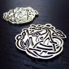 Celtic Dragon Charms 29mm Antiqued Silver Plated Pendants C3770 5 10 Or 20PCs