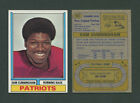 Top New England Patriots Rookie Cards of All-Time 23