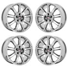 18 CADILLAC STS DTS PVD CHROME WHEELS RIMS FACTORY OEM SET 4585