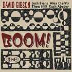 DAVID GIBSON - Boom! - CD - **BRAND NEW/STILL SEALED**