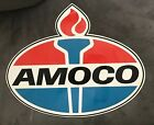 Vintage Advertising NOS Amoco Metal Sign