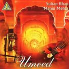 SULTAN KHAN & MANJU MEHTA - Umeed - 2 CD - **Excellent Condition** - RARE