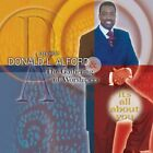 APOSTLE DONALD ALFORD - It's All About You - CD - **Mint Condition** - RARE