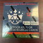 2019 Panini Diamond Kings Baseball Factory Sealed Hobby Box 2 Hits!