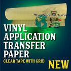 12 x 30 FT HIGH Tack Clear Transfer Tape Application Tape