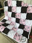 NEW Custom Made Crib Baby Toddler size handmade rag Quilt You Choose Colors