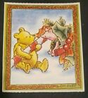 Disney Winnie the Pooh and Piglet Christmas sticker MIchel  Co
