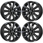 19 MAZDA CX 5 PVD BLACK CHROME WHEELS RIMS FACTORY OEM SET 64955