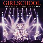 GIRLSCHOOL - Race With Devil - Live - CD - Import Live - **Excellent Condition**