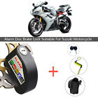 Motorcycle Bike Scooter Anti-theft Brake Disc Lock Wheel Alarm Security Loud