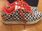New York Mets Reebok Sneakers Shoes NY MLB Clubhouse Checkerboard Size 12 RBK NY