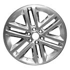Polished 6 Double Spoke 22X95 Factory wheel 2015 2017 Ford Expedition