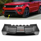 For Range Rover Sport 2014 2017 Mouldings Front ABS Skid Plate Bumper Board Trim