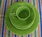 Fiesta RETIRED CHARTREUSE 5-Piece Dish Set ~