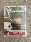 Funko Pop 12 Days Of Christmas Buddy The Elf With Raccoon Shop Exclusive