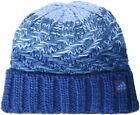 Womens Beanie Blue Authentic Adidas Classic Canyon Fold Knit Construction