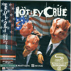 Motley Crue - Generation Swine Japan Mini LP SHM-CD Limited +5
