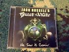 "JACK RUSSELL'S GREAT WHITE ""He Saw It Comin� CD Glam Metal 2017 Very Good RARE"