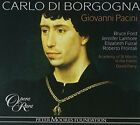 Pacini: Carlo Di Borgogna - 3 CD - Box Set Import - *BRAND NEW/STILL SEALED*