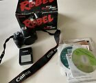 Canon EOS Rebel XSi 450D 122 MP 3 Screen Digital SLR Camera Black Body Only