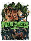 SWAMP ZOMBIES 2 brand new Bluray+DVD Combo pack Pre sale releases 7 1 18 horror