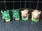 Magic Creations Vintage Salt and Pepper Shakers Pigs