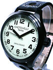 CHOTOVELLI,  18-1, CLASSIC PILOT MEN'S WATCH, QUARTZ, 47MM CASE, CREAM DIAL