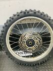1988-1995 Honda CR80 CR85 Front Rim Wheel Rotor Tire