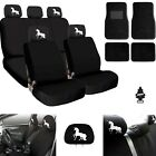 For Jeep New Unicorn Car Truck SUV Seat Covers Headrest Floor Mats Full Set