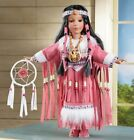 Native American Indian Porcelain Doll Collectible Statue Southwestern Figurine