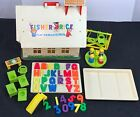 Vintage 1970 Fisher Price Little People Play Family School 923 w Accessories
