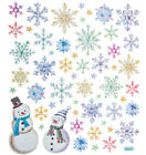 Snowflakes Holiday Foil Stickers Papercraft Planner Supply Xmas Cards Craft Seal