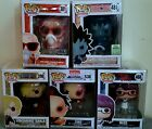 Funko Pop! anime lot of 5 in protectors. 2 exclusives! Free shipping!
