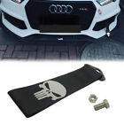 JDM Reflective Skull Racing Drift Rally Car Tow Towing Strap Belt Hook Univesal