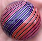 Hot House Glass Dichroic banded swirl marble 146 37mm 441
