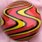 Hot House Glass reverse twist banded swirl marble 183 46mm 447
