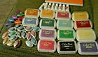 HUGE Lot of Colorbox Chalk Ink Pads Full size Cats Eye + Refills
