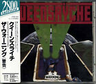 QUEENSRYCHE The Warning JAPAN 1st Press CD 1988 CP28-1043 W/Obi