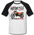 Moto Guzzi NTX 650 - NEW COTTON BLACK SHORT SLEEVED TSHIRT