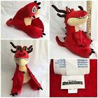 Build a Bear BAB Workshop How To Train Your Dragon Hookfang Retired Red Plush