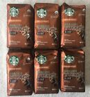 6 Bags Starbucks Organic Yukon Blend Medium Roast Ground Arabica Coffee 10oz Bag