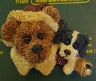 Boyds Bears & Friends Bearware Collection Pin / Brooch #26008 Northrup & The Pup
