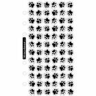 Animal Tracks Puppy Paw Print Stickers Planner Papercraft Envelope Seals Party