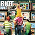 Riot: Privilege of Power NEW CD