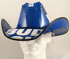 Beer Box Cowboy Hat made from recycled Bud Light beer boxes