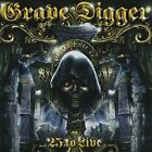 GRAVE DIGGER - 25 To Live - 2 CD - **Excellent Condition** - RARE
